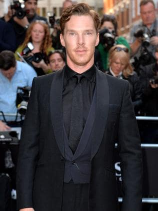 Benedict Cumberbatch attends the GQ Men of the Year awards.