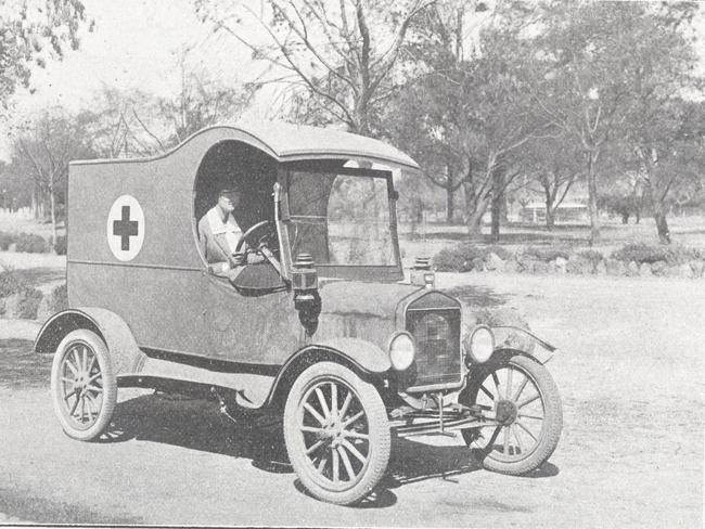 australian red cross at 100  days after wwi began  one