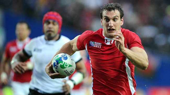 Welsh flanker Sam Warburton is expected to lead the Lions.