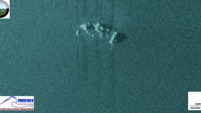 Not MH370 either. An example of a Classification 2 contact detected by MH370 search vessels. Picture: ATSB
