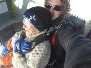 Supplied Editorial Fwd: Irene O'Shea Skydive June 11th 2016 1st two