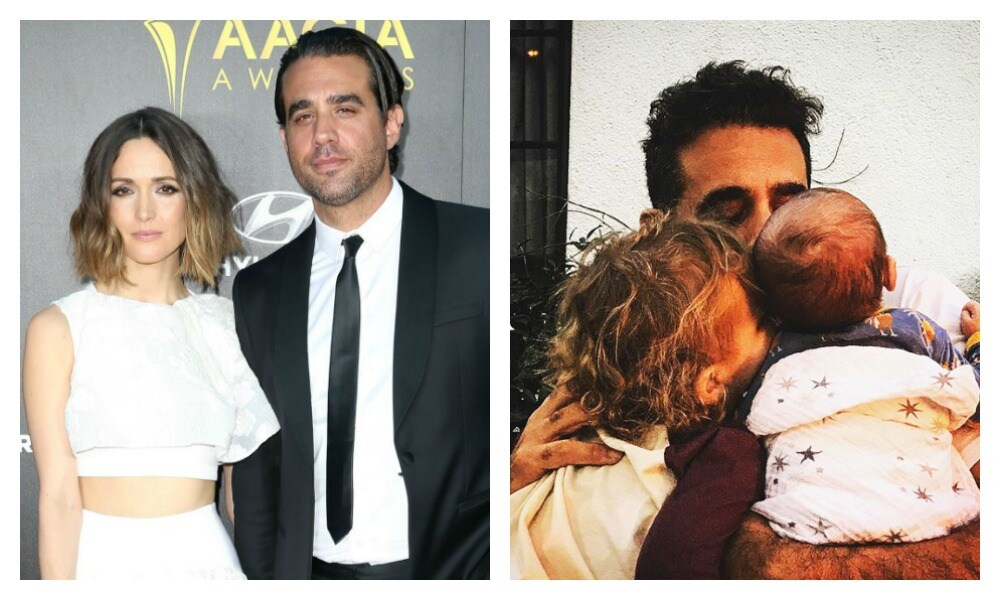 The surprising inspiration behind Rose Byrne's new son's name