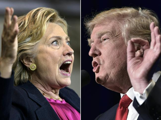 The meeting was meant to present dirt on Donald Trump's opponent Hillary Clinton. Picture: AFP