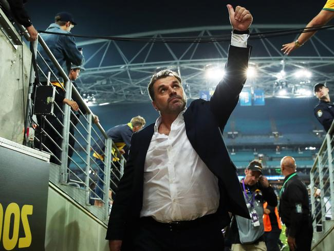Ange Postecoglou. Picture. Phil Hillyard