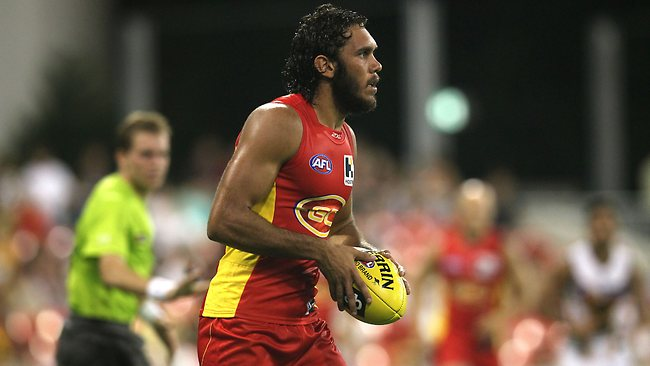 Harley Bennell on Saturday night. Picture: David Clark