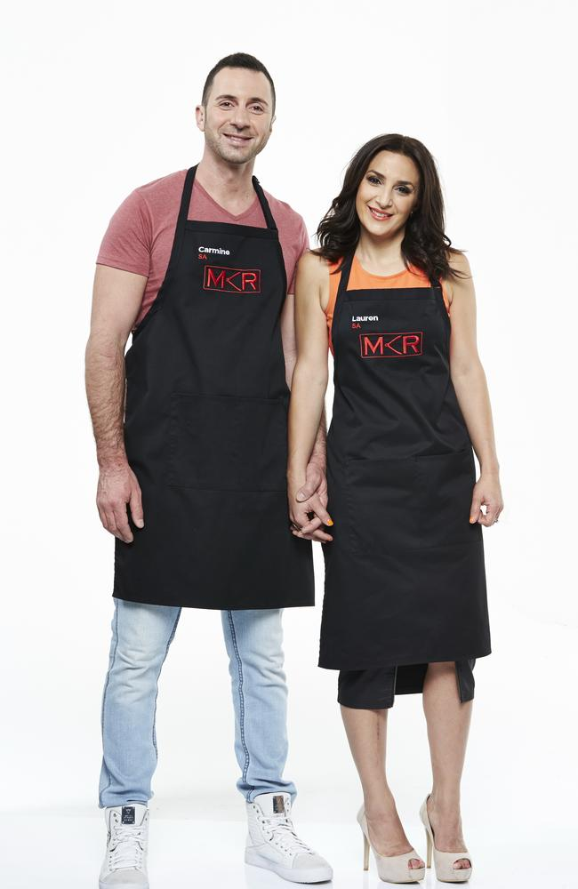 SA's Carmine and Lauren: Lauren's copping heat from viewers, but Gareth says it's undeserved.