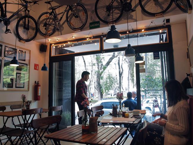 Cafe culture in strong in the capital. Picture: Flickr/Alejandro