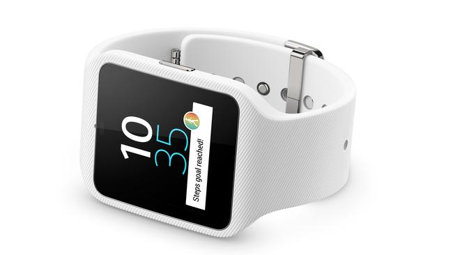 Waterproof ... Sony makes smartphones you can swim with, now it has the SmartWatch 3 to match.