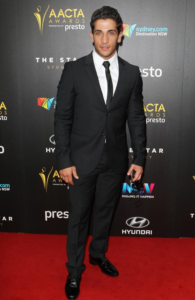 Firass Dirani arrives ahead of the 5th AACTA Awards Presented by Presto at The Star on December 9, 2015 in Sydney, Australia. Picture: Christian Gilles
