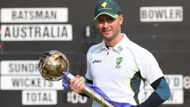 Michael Clarke has helped guide Australia back to the top of the pile.