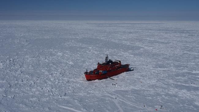 The crew of the Aurora Australis should read this story.