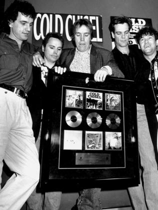Cold Chisel were the first Australian band to sell two million albums. Picture: News Corp Australia