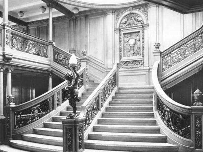 This is the original grand staircase. Picture: Bluestarline.com.au