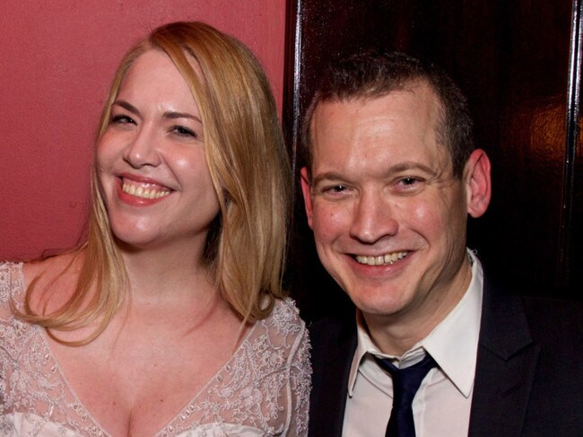 Mandy met comedian Pat Dixon, who made her reassess her views on marriage. Image: Brody Brodo