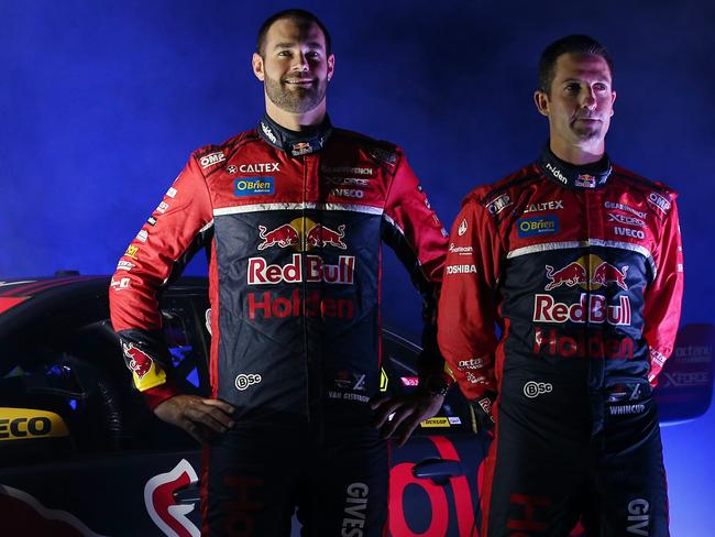 Reigning Supercars champion Shane van Gisbergen and six-time winner Jamie Whincup.