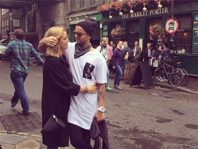 "Guy Sebastian has been hitting the shops with wife Jules at the Borough Market in Southwark, London. Sebastian posted: ""Comfy clothes day #londonshopping"" Picture: Instagram"