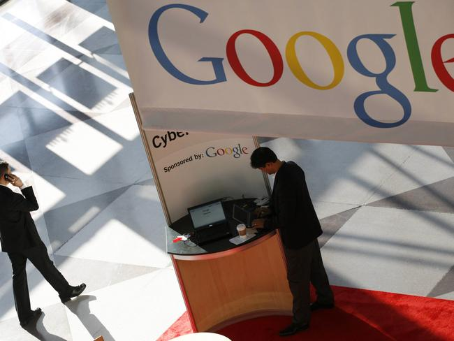 The move has sparked debate about how much information Google is handing over to police. Pic: AP/Mark Lennihan