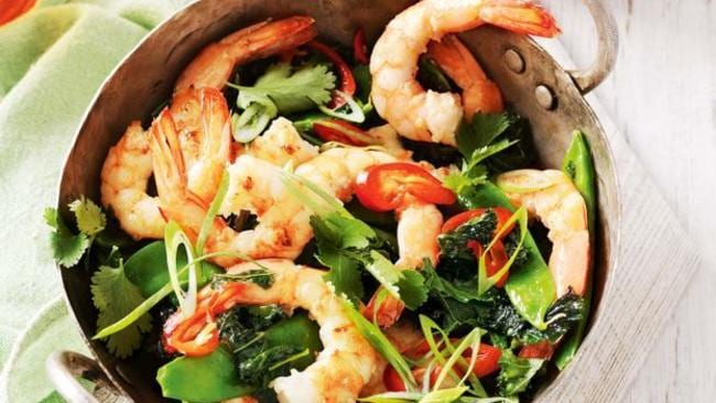 Summer means prawns, yay!