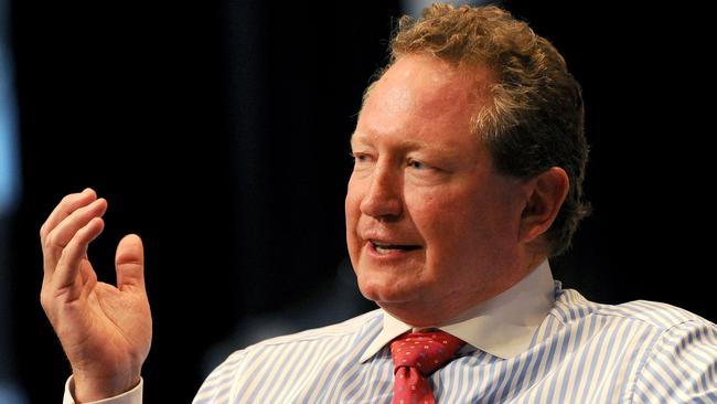Mining billionaire Andrew Forrest has backed the push to get the legal age a person can purchase cigarettes risen from 18 to 21. Picture: William West/AFP