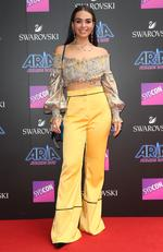 Cartia Millan arrives on the red carpet for the 31st Annual ARIA Awards 2017 at The Star on November 28, 2017 in Sydney, Australia. Picture: Richard Dobson