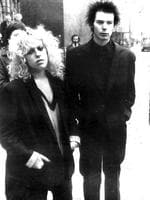 <p>Sex Pistols star and punk rocker Sid Vicious, seen here with girlfriend Nancy Spungen, died in 1979 at age 22 from a heroin overdose.</p>