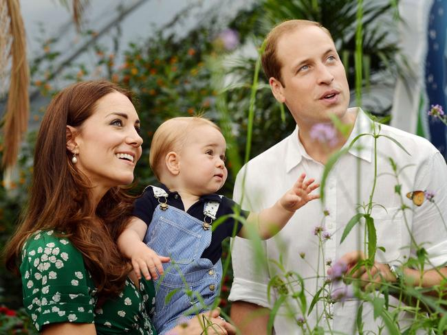 Thankful ... Wills and Kate sent a short message thanking wellwishers the world over for their support.