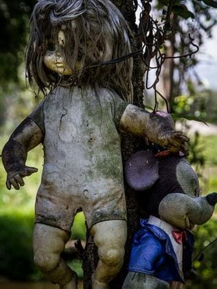 The dolls are in various states of disrepair. Picture: Flickr/Kevin