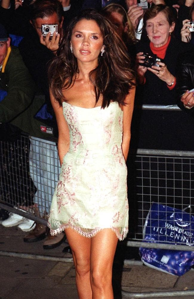 The former Spice Girl arrives at the 2000 Elle Style Awards in London.