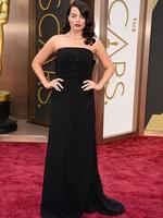 Margot Robbieon the red carpet at the Oscars 2014. Picture: AP