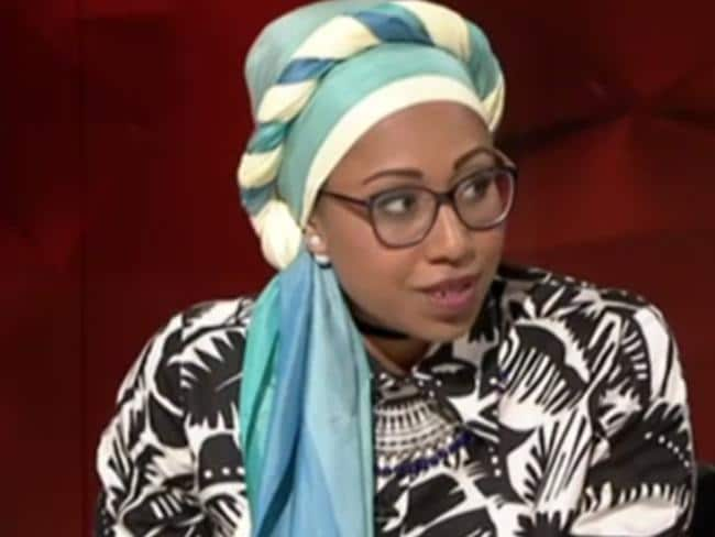 Yassmin Abdel-Magied on Q & A. Picture: ABC