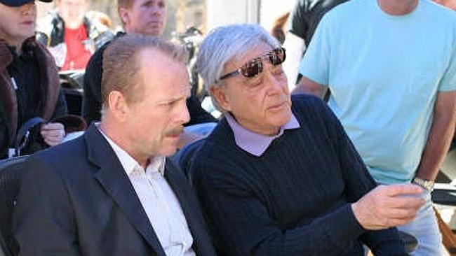 Getting our hopes up ... director Richard Donner (left, with actor Bruce Willis) told TMZ