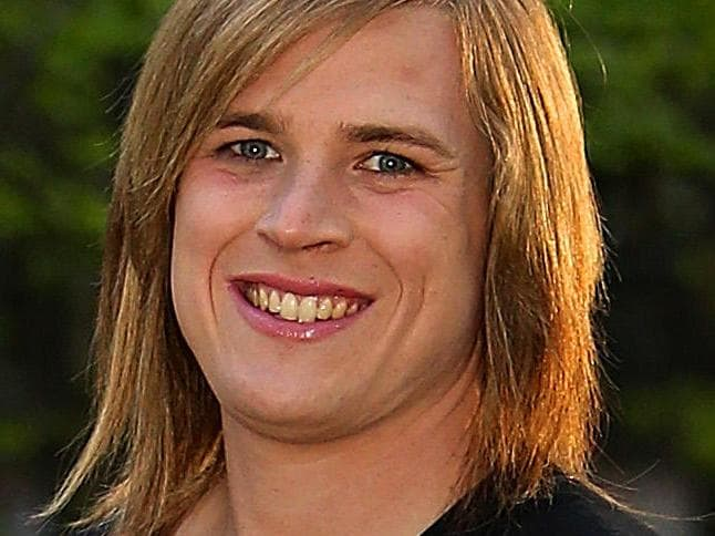 DAILY TELEGRAPH SPECIAL -   Hannah Mouncey, the Former captain of ACTÕs menÕs handball team has failed to cross the first hurdle of playing for the ACT as a woman. Picture Kym Smith