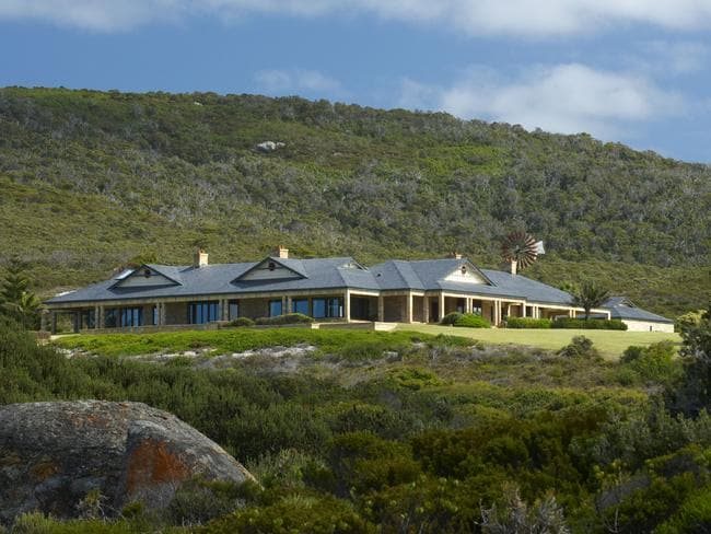 Fit for a lady, Maitraya near Albany wowed Gaga. Picture: realestate.com.au