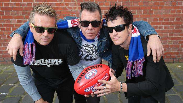The Living End Grand Final Pic