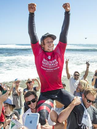 Reigning men's world Champion John John Florence.