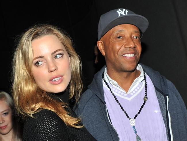"Melissa George and Russell Simmons claimed they split due to ""the difficulty of long-distance relationships""."