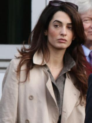 George Clooney's fiancee ... Amal Alamuddin. Picture: AP