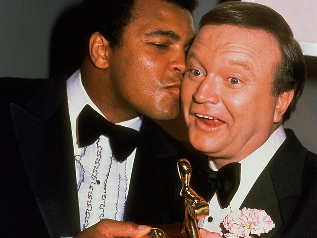 Oops ... Bert Newton's unintentional comment about boxer Muhammad Ali at the TV Week Logie Awards in 1979 shocked many viewers.