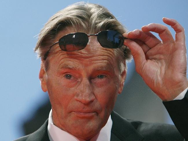 Sam Shepard at the Venice International Film Festival in 2007. Picture: Alberto Pizzoli/AFP
