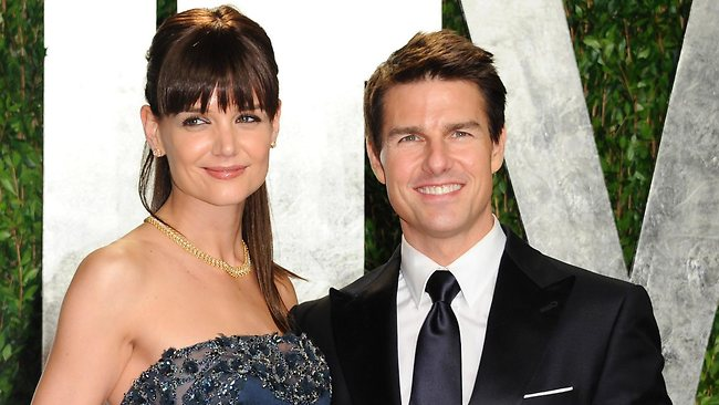 Lawyers are said to be finalising Katie Holme's divorce from Tom Cruise. Picture: AP