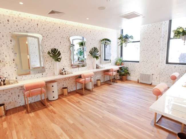 The Wing's beauty room. Photo: Supplied