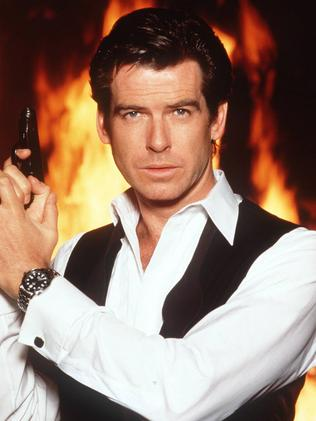 Pierce Brosnan also starred as James Bond. Picture: Supplied