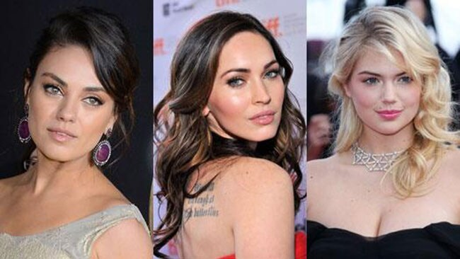 Mila Kunis, Megan Fox and Kate Upton