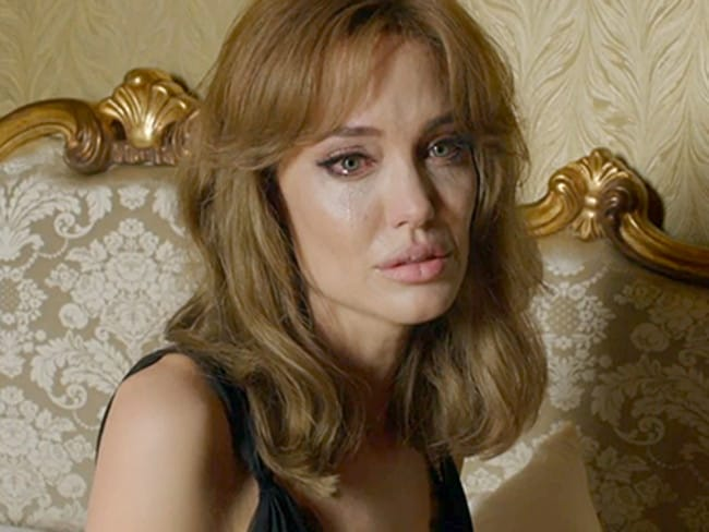 Angelina Jolie wrote and directed the film,  <i>By The Sea</i>, which portrayed a marriage in crisis. Picture: Supplied