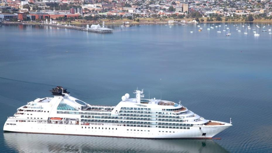 Seabourn Odyssey Cruise Ship To Dock In Corio Bay