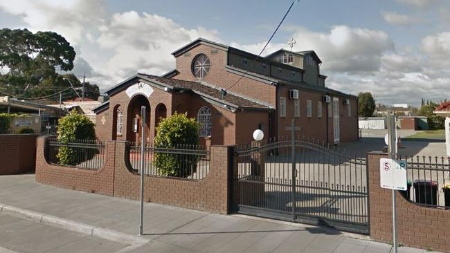 The incident reportedly occurred at Clayton's Greek Orthodox Church in Melbourne