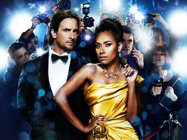 Kip Gamblin and Paulini star in the Australian tour of The Bodyguard.