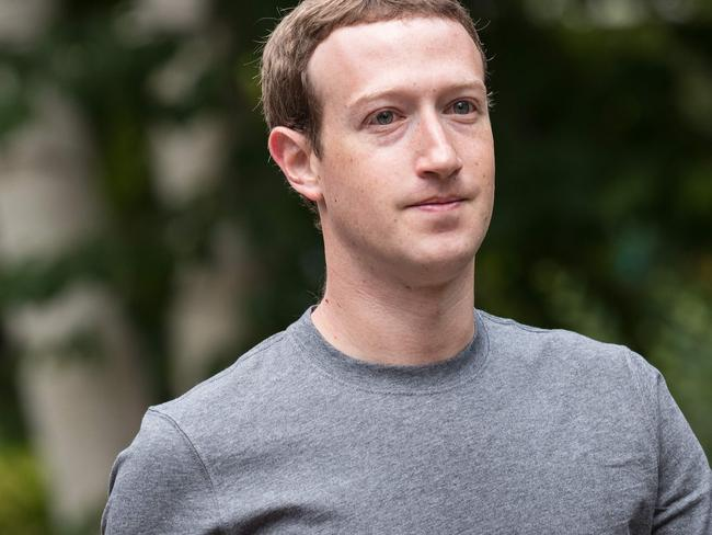In an emotional interview, Mark Zuckerberg made a direct apology and admitted his fears of further election meddling. Picture: AFP Photo/Getty Images North America/Drew Angerer