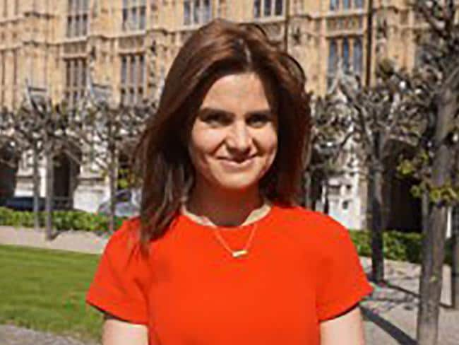Labour MP Jo Cox was 41. Picture: AFP.