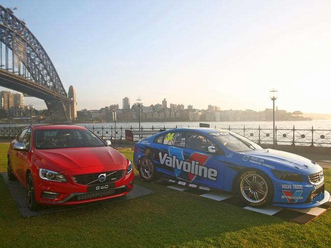 Volvo S60 meets Volvo S60R V8 Supercar.